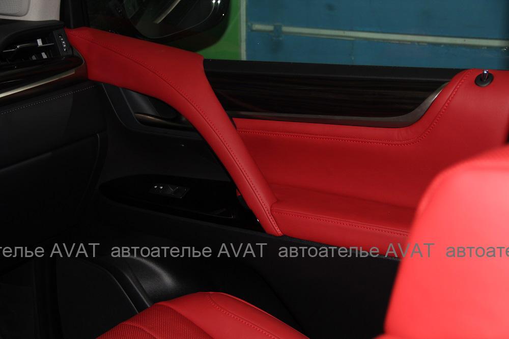 пошив салона в Lexus LX 450