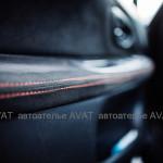 перетяжка салона алькантарой Subaru Impreza WRX S204 STi