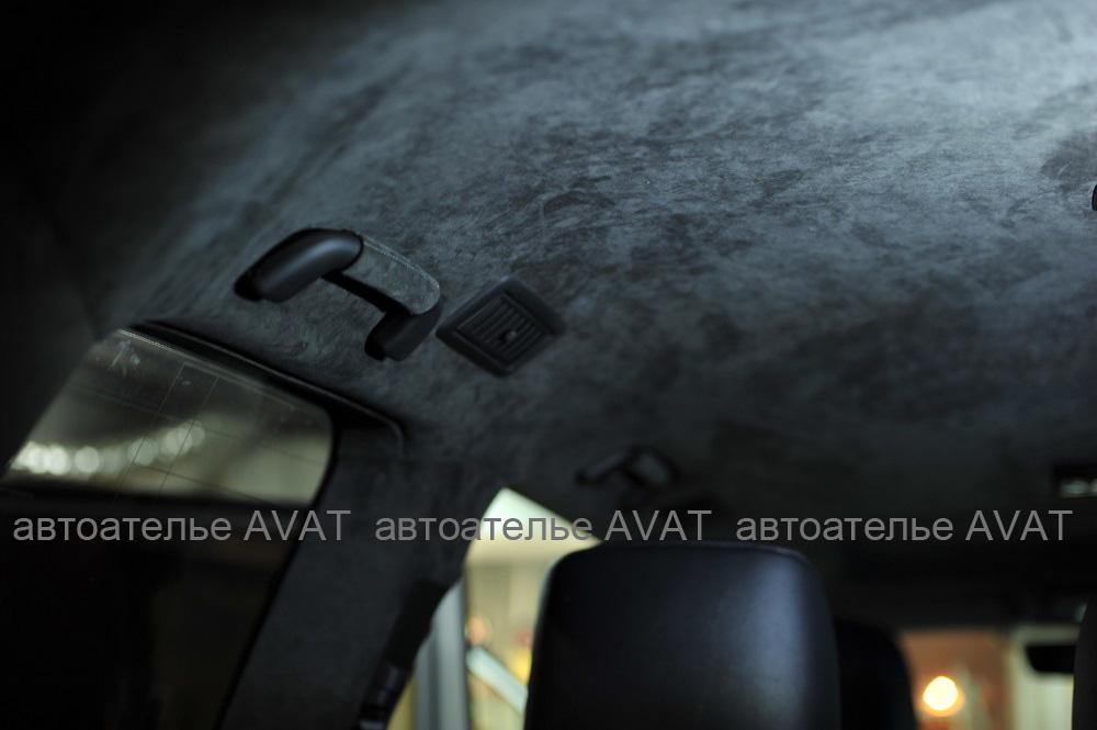 Перетяжка потолка Toyota Land Cruiser 200