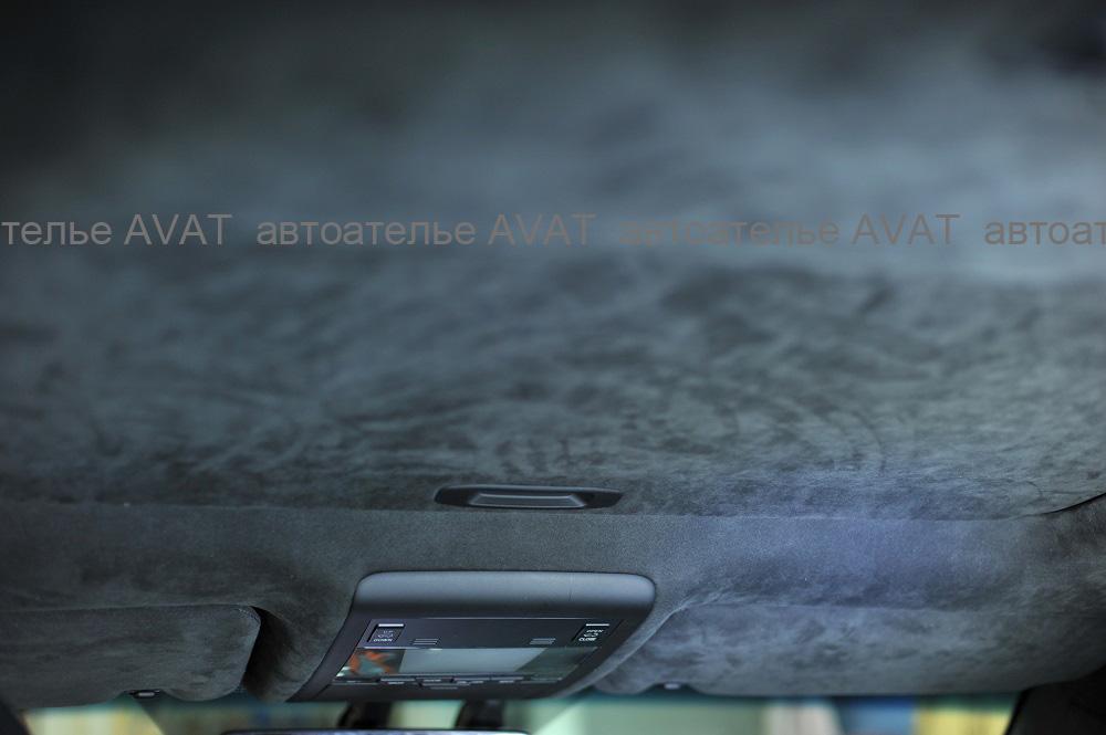 потолок в алькантаре Тойота Лэнд Крузер