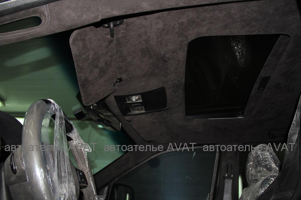 jeep grand cherokee srt8 перетяжка потолка