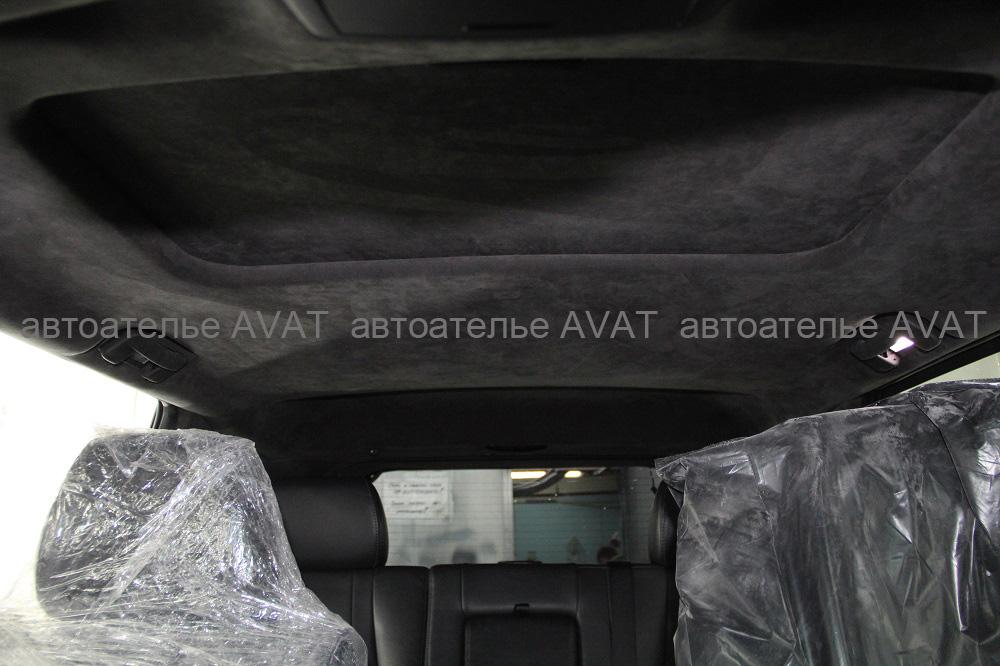 перетянуть потолок jeep