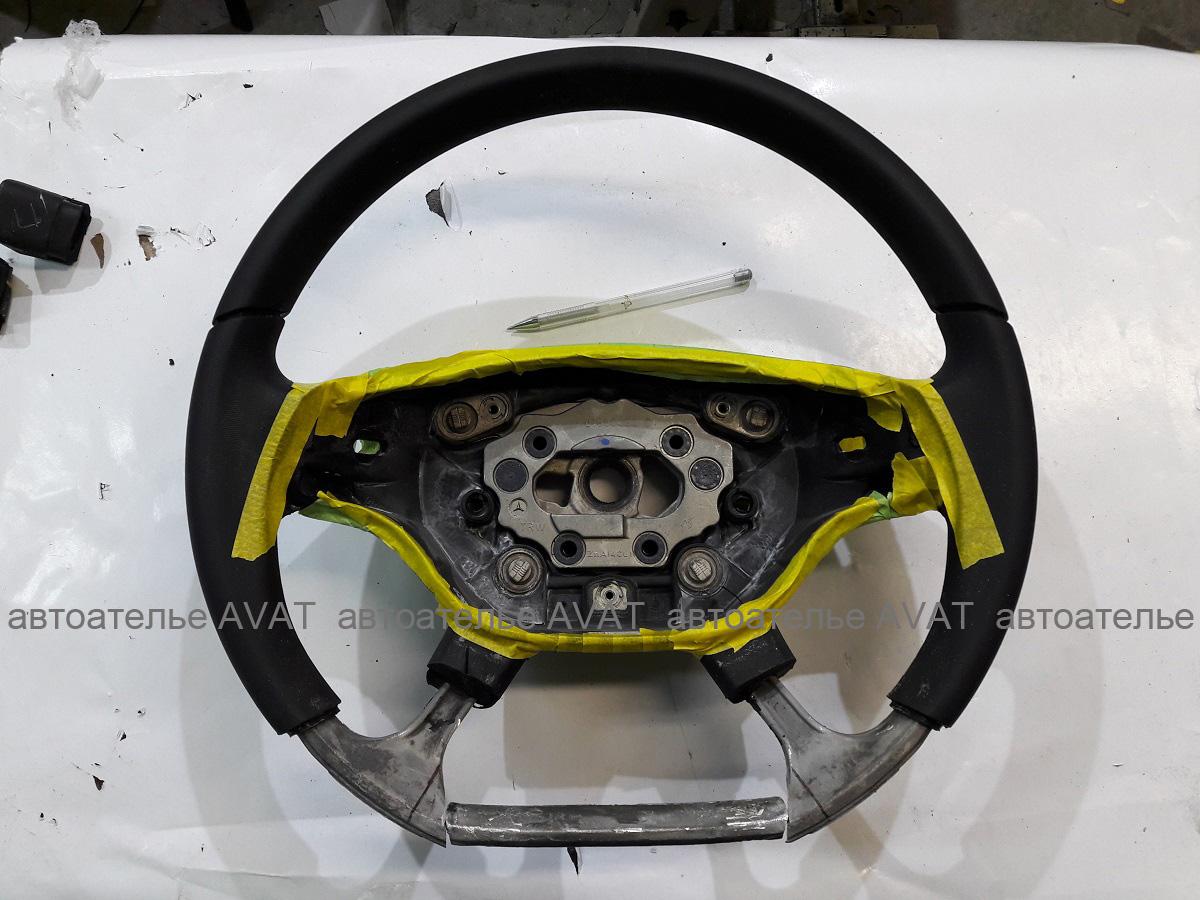 Изменение анатомии руля Mercedes W221