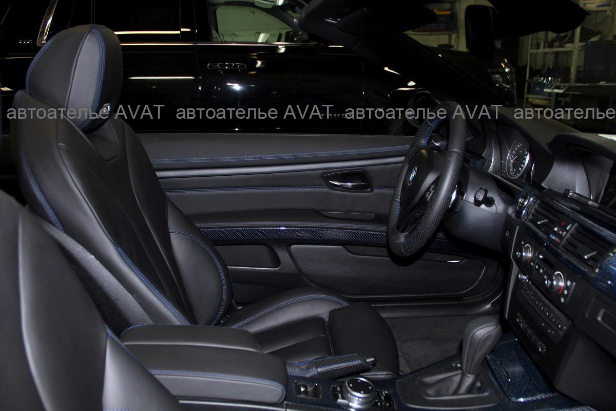 перетяжка салона BMW 3 серии