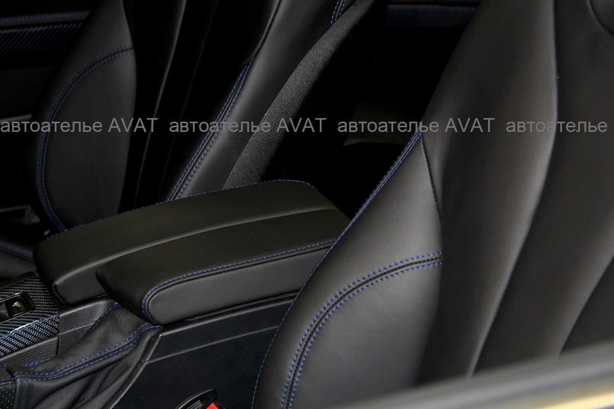 перешив сидений BMW 3