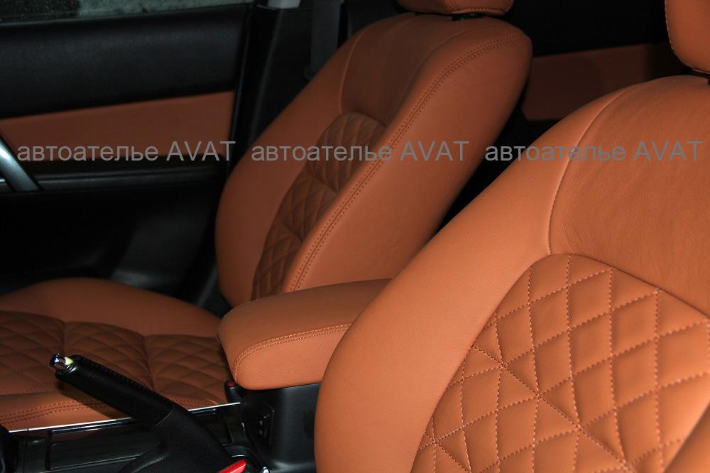 Перетяжка салона Mazda 6 кожей