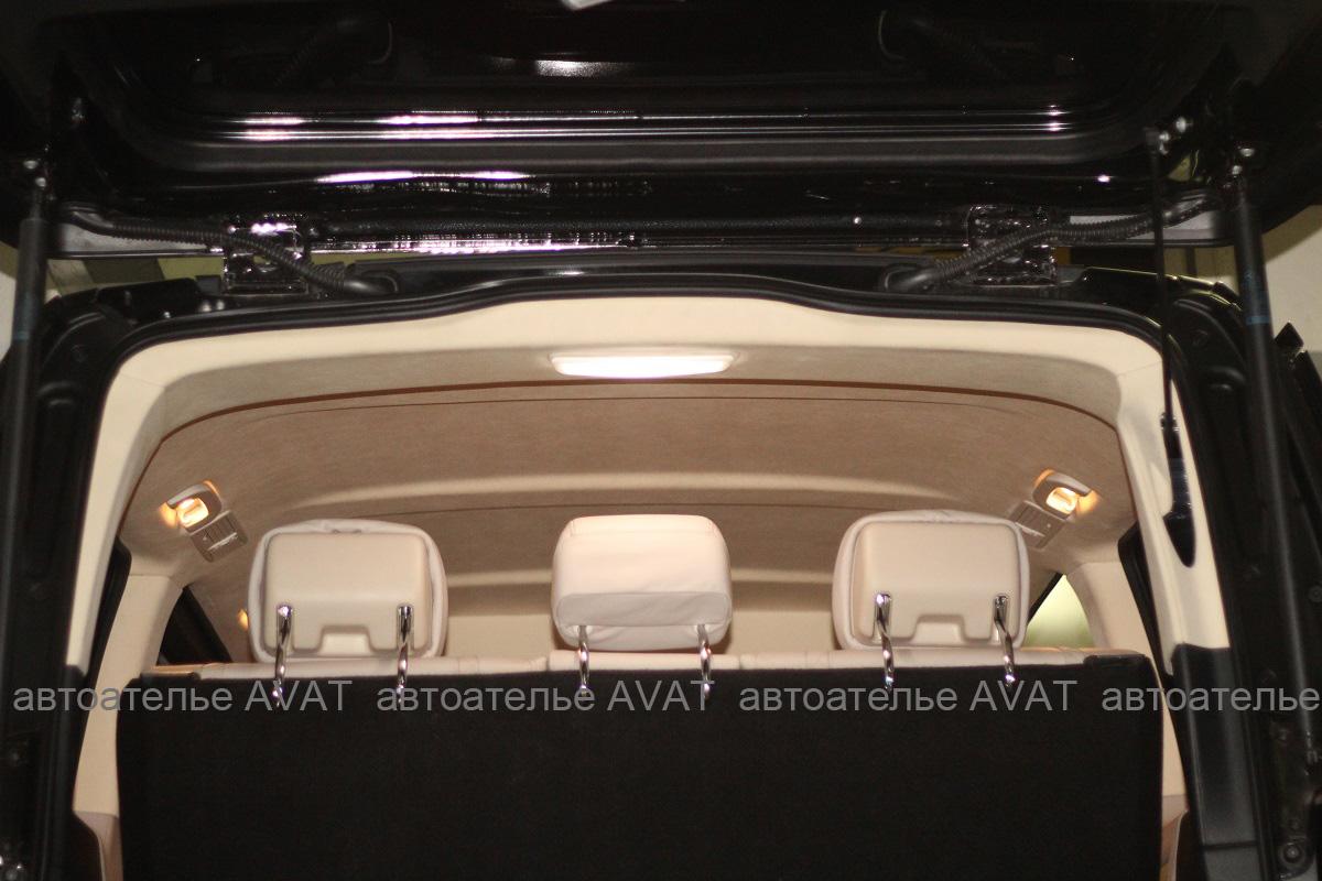 Перетяжка потолка Mercedes Benz V-класса