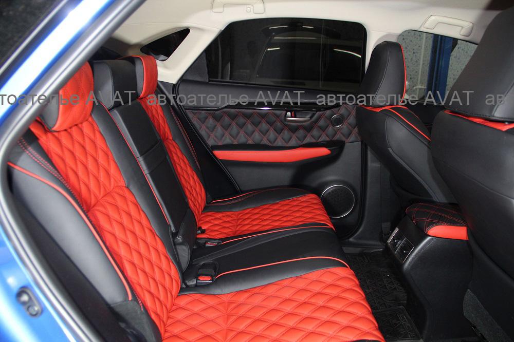 перетяжка сидений Lexus NX