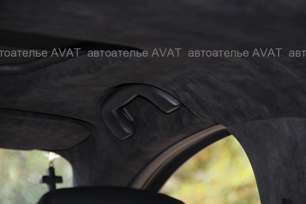 Перетяжка  потолка дорестайлинговой Mazda CX5