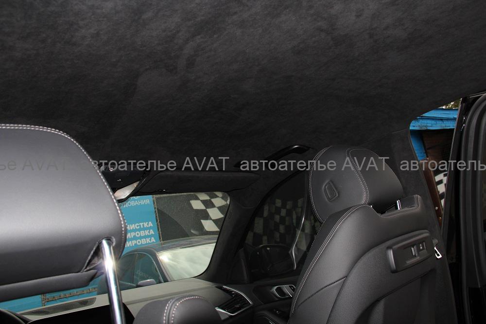 комплексная перетяжка потолка BMW X5 G05