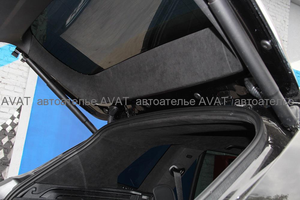 перетяжка деталей пятой двери динамикой BMW X5 G05