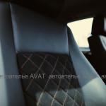 Перетяжка салона BMW X 1 кожей