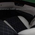 Перетяжка салона авто Mercedes W 221