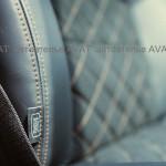 перетяжка салона BMW X1 кожей и алькантарой