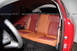 перетяжка дверных карт Opel Astra