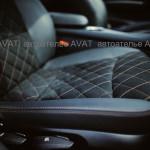 перетяжка BMW кожей и алькантарой