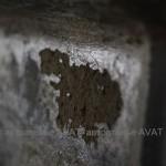 ремонт повреждений потолка