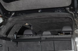 перетяжка потолка BMW X5 Итальянской алькантарой