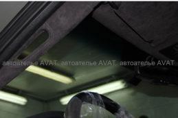 перетянуть потолок алькантарой jeep grand cherokee srt8