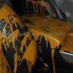 Салон Range Rover краска
