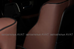 перетяжка сидений кожей на Хаммер