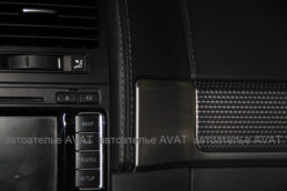 Торпедо перетяжка кожей Volkswagen Touareg