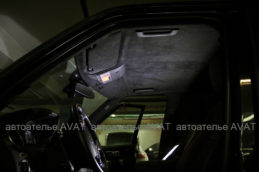 Land Rover discovery алькантара