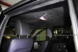 Land Rover discovery 3 потолок