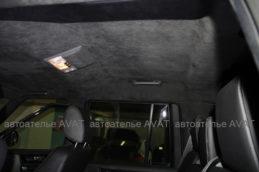 Перетяжка потолка Land RoverПеретяжка потолка Land Rover