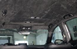 перетяжка потолка алькантарой мазда сх5