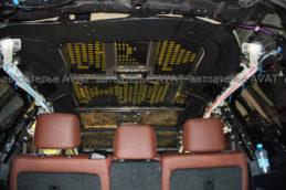 шумоизоляция потолка на Toyota LC200