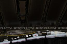шумоизоляция потолка тойота камри v70