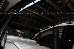 toyota camry v70 шумоизоляция крыши