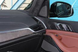 перетяжка кожей торпедо и дверей BMW X5 G05
