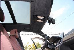BMW X5 G05 потолок в алькантаре