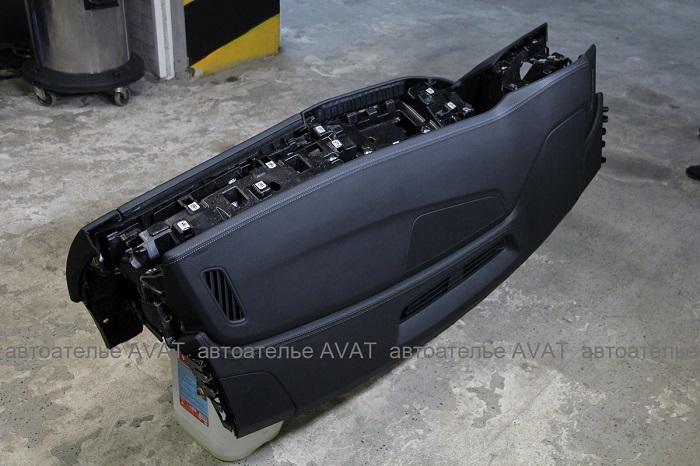 торпедо AUDI Q8 в натуральной коже nappa