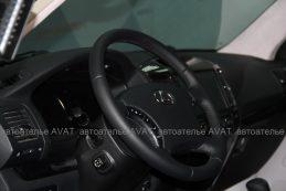 Перетяжка кожей Hans Reinke руля Lexus GX
