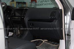Фото по перетяжке верха и низа приборной панели Lexus GX