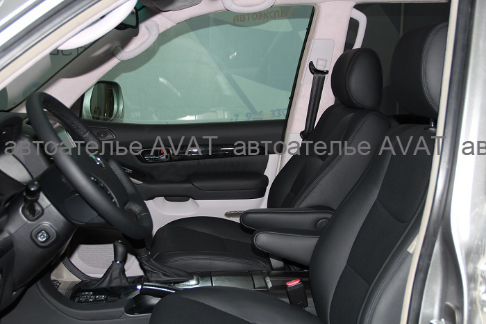 Комплексная перетяжка салона Lexus GX кожей
