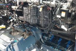 виброизоляция моторного щита на тойота лэнд крузер 78